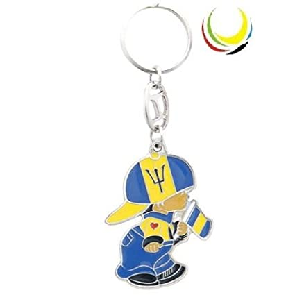 Amazon.com: Keychain BARBADOS BOY: Everything Else