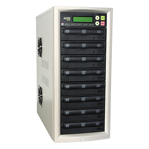 KADV7 7 Bay CD/DVD Duplicator