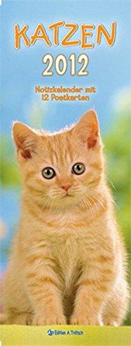Streifenkalender - Katzen 2012