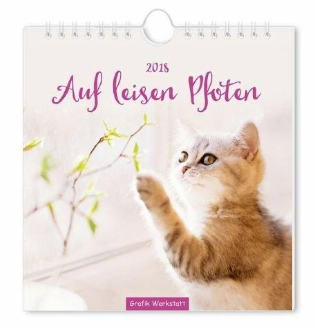 Auf leisen Pfoten 2018: Postkartenkalender