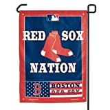 "MLB Boston Red Sox Garden Flag, 11""x15"", Team Color"