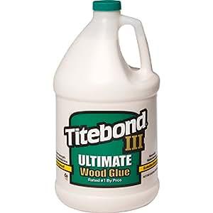 Titebond 1416 III Ultimate Wood Glue, 1-Gallon