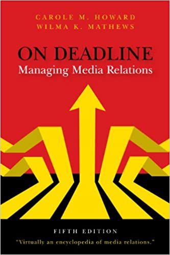 Amazon on deadline managing media relations ebook carole m on deadline managing media relations 5th edition kindle edition fandeluxe Document