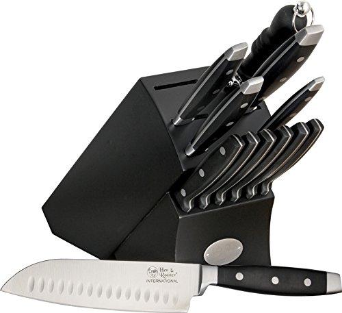 Hen & Rooster HRI028-BRK 13Piece Kitchen Knife Set