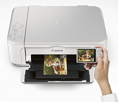 Canon PIXMA MG3620 Wireless All-In-One Color Inkjet Printer with Mobile and Tablet Printing, White by Canon (Image #5)