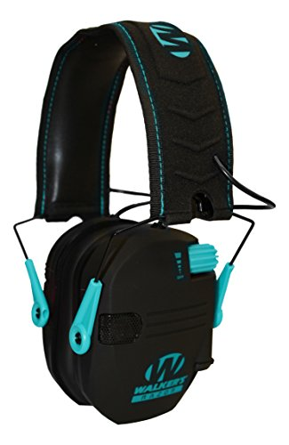 Walker's Razor Slim Electronic Muff - Teal
