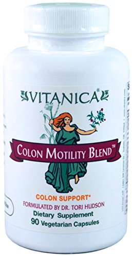 Vitanica - Colon Motility Blend - Colon Support - 90 Vegetarian Capsules