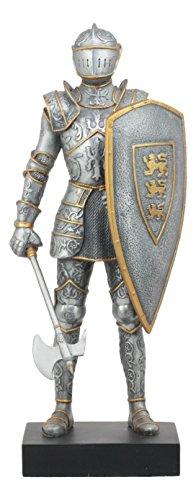 Ebros Elite Medieval Axeman Knight Statue 13