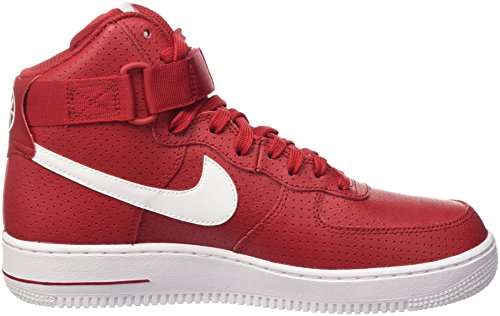 Nike Herren Air Force 1 High 07 Gymnastik Rot (Gym Red/White/White)
