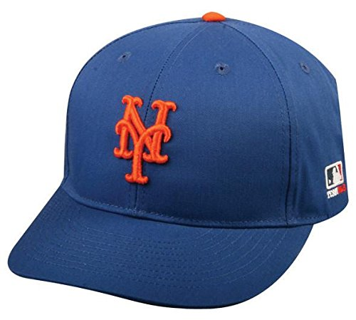 New York Mets Youth MLB Licensed Replica Caps / All 30 Teams, Official Major League Baseball Hat of Youth Little League and Youth Teams by Outdoor Cap