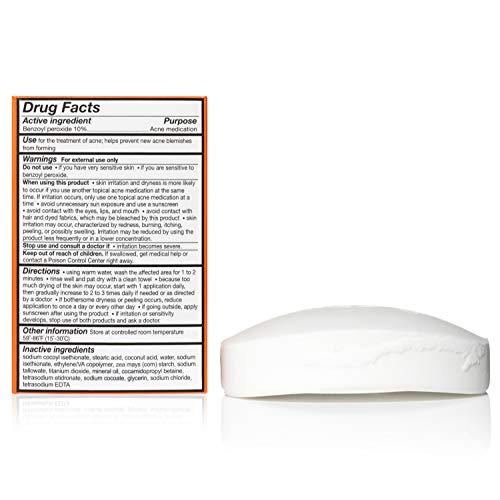 10% Benzoyl Peroxide Acne Bar