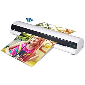 Ion air copy wireless photo document for Brother ds 920dw wireless duplex mobile color page scanner white