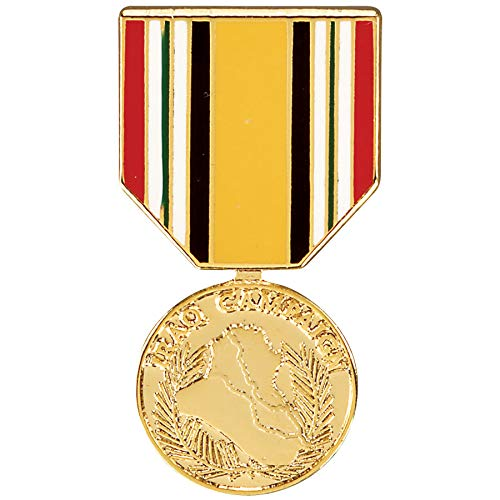 Medals of America Iraq キャンペーンメダル 帽子ピン B07PRXSLYD