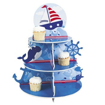 Nautical Sailor Cupcake Fun Express