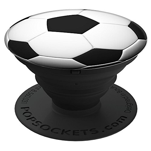 PopSockets: Collapsible Grip and Stand for Phones and Tablets - Soccer (Ball And Socket)