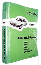 1988 toyota camry repair manual toyota amazon com books rh amazon com 1998 toyota camry repair manual download free 1998 toyota camry repair manual