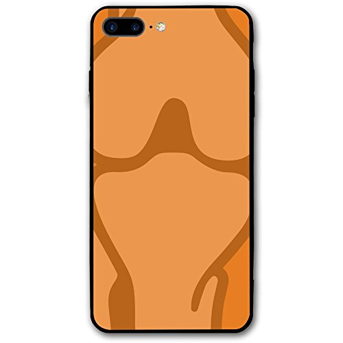 Iphone 7P / 8P Case Rheumatology Fracture Center Carrot Environmental Dustproof Cover For Iphone 7 Plus Iphone 8 Plus Case
