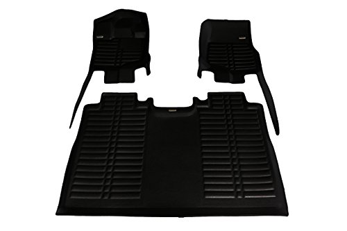 (TuxMat Custom Car Floor Mats for Ford F150 SuperCrew 2015-2020 Models- Laser Measured, Largest Coverage, Waterproof, All Weather.The BestFord F150 Accessory. (Full Set -)