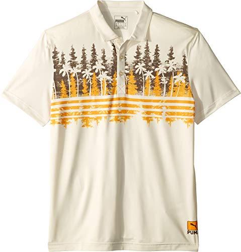 - PUMA Golf Kids Boy's Pines Polo (Big Kids) Chocolate Brown X-Small