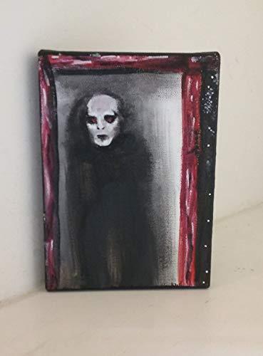 Specter 5x7 Horror Acrylic Painting