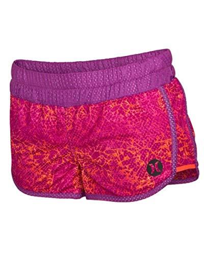 Hurely Womens Dri-Fit Mesh Beachrider Shorts GAB0000670, Fuchsia Flash, - Short Fit Dri Flash