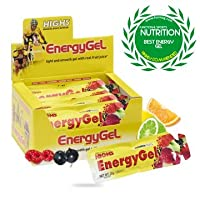 High 5 Energy Gel Mixed Box 20 Sachets Sports Nutrition - Yellow