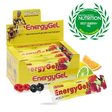 High5 Energy Gel Mixed Box 20 Sachets Sports Nutrition - Yellow