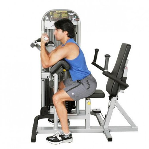 Inflight® Multi Bicep-Tricep Machine by Inflight Fitness (Image #2)
