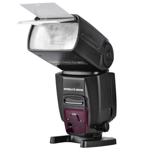 Meike MK600 High Speed Sync 1/8000s E-TTL Master and Slave Flash Speedlite Replacement for Canon Cameras