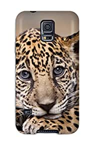 2122641K84835641 Defender Case With Nice Appearance (baby Jaguar) For Galaxy S5