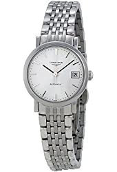 Longines Elegant White Dial Stainless Steel Ladies Watch L43094126