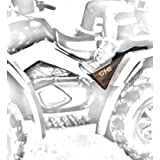 ATV REAR PASSENGER FOOTRESTS REAR FOOTPEGS (fits all models)***MADE WITH WEAR-RESISTANT BALLISTIC NYLON MATERIAL WITH ***LIFETIME GUARANTEE*** BEWARE OF CHEAP MATERIAL FAKES!