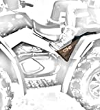 ATV REAR PASSENGER FOOTRESTS REAR FOOTPEGS (fits all models)MADE WITH WEAR-RESISTANT BALLISTIC NYLON MATERIAL (BEWARE OF CHEAP MATERIAL FAKES!)