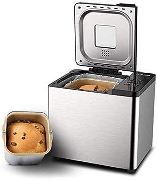 Máquina para hacer pan eléctrica, máquinas para hacer pan, máquinas para hacer pan caseras inteligentes automáticas Yogur para hornear pasta Tecnología integrada para hornear inteligente Función de a: Amazon.es: Deportes y aire