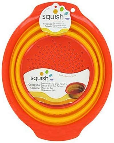 Squish Silicone Colander Collapsible Strainer