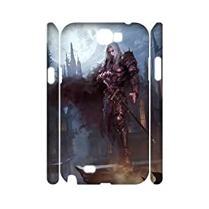 3D Vampire Cases For Samsung Galaxy Note 2 White Yearinspace144833