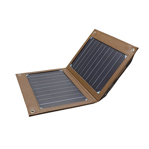 10W Klapp-solar-Ladegerät, solar-angetriebene Faltung im freien tragbare Notfall-Ladegerät