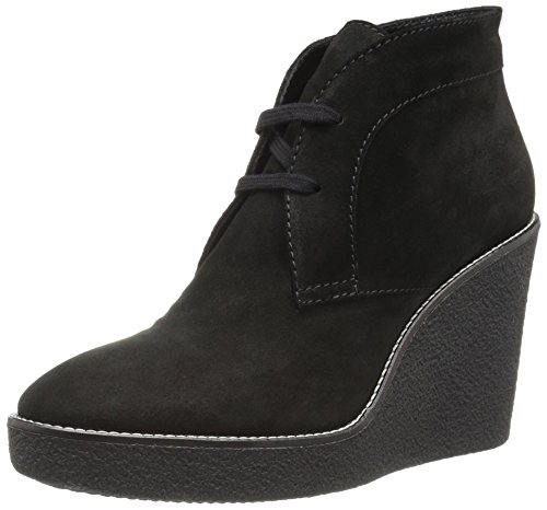 Aquatalia Womens Vianna Suede Boot Black