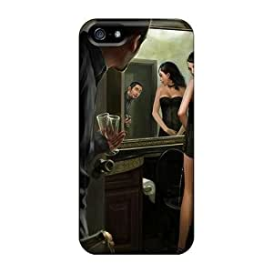 For Iphone 5/5s Fashion Design Too Many Drinkis Case-WgyCXls3396DruLj
