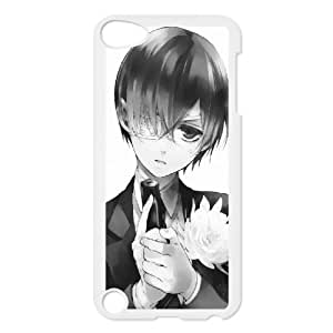 Cases for Ipod Touch 5, Black Butler Ciel Cases for Ipod Touch 5, Yearinspace White