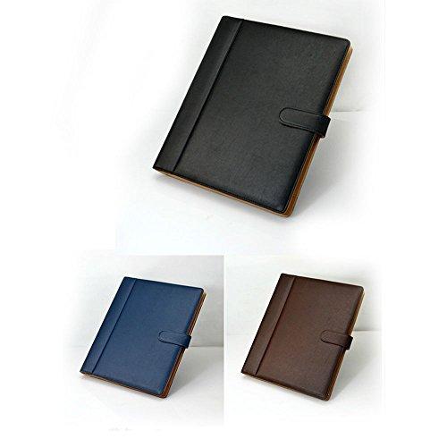 Goodjobb Multi-Function Manager Folder with Calculator Business Document Holder Travel Folder,Brown by Goodjobb (Image #6)