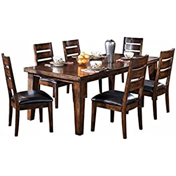 ashley furniture dining room sets images set sale tables prices this item signature design table old world style burnished dark brown