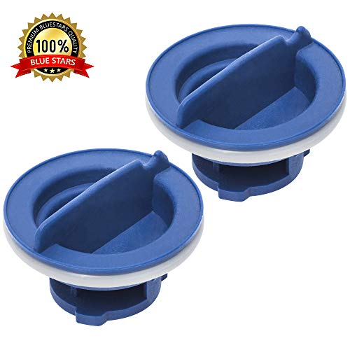 Ultra Durable W10077881 Dishwasher Rinse Aid Cap Replacement Part by Blue Stars – Exact Fit for Whirlpool, KitchenAid Dishwashers – PACK OF 2