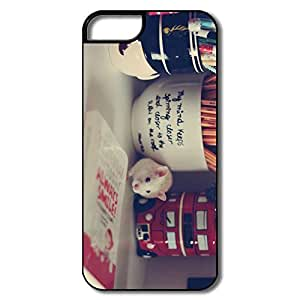 Fantastic Hamster Walking Pc Case Cover For IPhone 5/5s