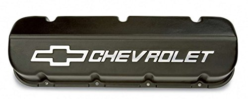 Gm Performance Parts Valve Cover (GM Parts 25534323 Black Powder Coated Aluminum Valve Cover for Big Block Chevy)