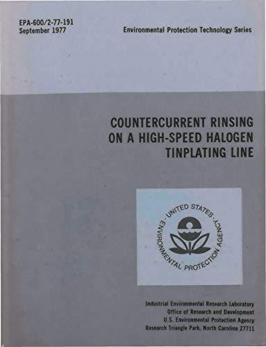 Countercurrent Rinsing on High-Speed Halogen Tinplating Line ()