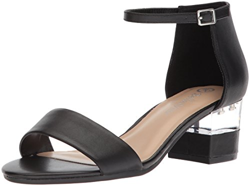 Bella Leather Heels - Bella Vita Women's Fitz Heeled Sandal, Black Leather, 6.5 N US