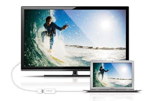 PNY A-DM-HD-W01 Mini DisplayPort to HDMI Adapter