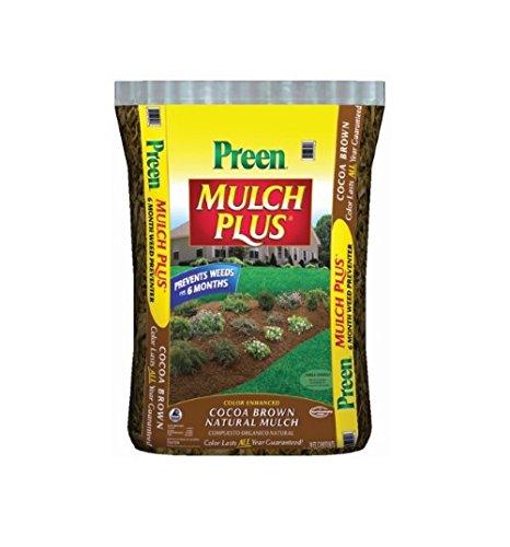 Waupaca Northwoods WPN03259 Preen Plus Mulch, Black
