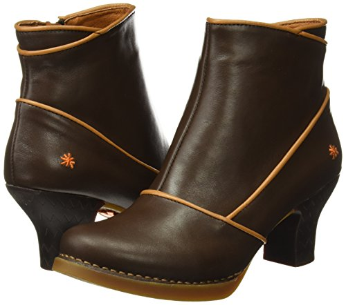 Femmes Bottines Art star Pour cuero Harlem Marron Brown rttwO